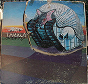 cut out Tarkus album